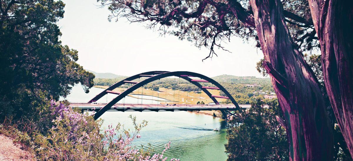 The 360 Bridge in Austin, Texas.