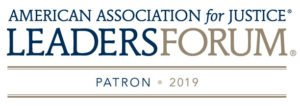 The law firm of Hissey Mulderig & Friend is a patron of the American Association for Justice's Leaders Forum.
