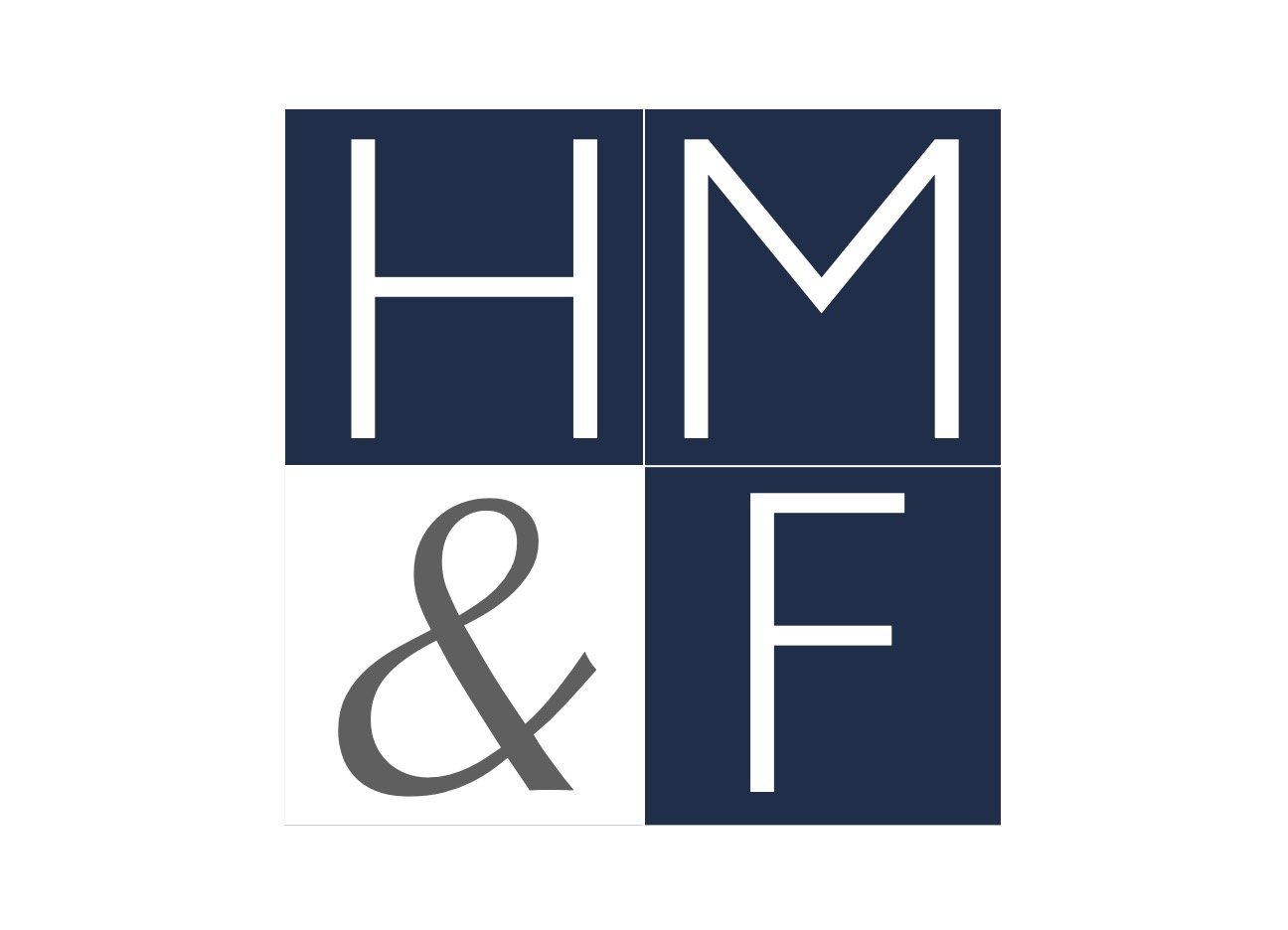 Square logo in a horizontal image of the law firm of Hissey Mulderig & Friend.